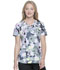 Photograph of Dickies Dynamix Women's V-Neck Top Garden Geo DK731-GRGO