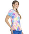 Photograph of Dickies Dickies Dynamix V-Neck Top in Totally Tie Dye