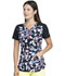 Photograph of Dickies Dickies Dynamix V-Neck Top in Floral In Motion