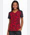 Photograph of Dynamix Women's V-Neck Top Marker My Day DK732-MRMY