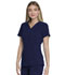 Photograph of EDS Essentials Women's V-Neck Top Blue DK735-NYPS