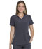 Photograph of Every Day EDS Essentials Women's V-Neck Top Gray DK735-PWPS