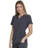Photograph of Every Day EDS Essentials Women V-Neck Top Gray DK735-PWPS