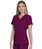 Photograph of Dickies Every Day EDS Essentials V-Neck Top in Wine
