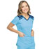 Photograph of Dynamix Women's V-Neck Top Blue DK740-BLCE