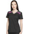 Photograph of Dynamix Women's V-Neck Top Black DK740-BLK
