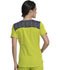 Photograph of Dickies Dynamix Women V-Neck Top Green DK740-CLCI
