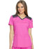 Photograph of Dickies Dynamix Women's V-Neck Top Pink DK740-COPK