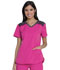 Photograph of Dickies Dynamix V-Neck Top in Hot Pink