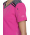 Photograph of Dickies Dickies Dynamix V-Neck Top in Hot Pink