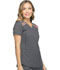 Photograph of Dynamix Women's V-Neck Top Gray DK740-PWT