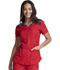 Photograph of Dickies Dynamix Women's V-Neck Top Red DK740-RED