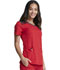 Photograph of Dynamix Women's V-Neck Top Red DK740-RED