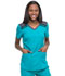 Photograph of Dickies Dickies Dynamix V-Neck Top in Teal Blue