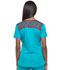 Photograph of Dickies Dynamix Women's V-Neck Top Blue DK740-TLB