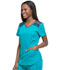 Photograph of Dickies Dynamix V-Neck Top in Teal Blue
