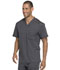 Photograph of Dickies Dynamix Men's Melange Contrast V-Neck Top in Pewter