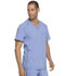 Photograph of Dickies Advance Men's V-Neck Top in Ciel Blue