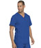 Photograph of Dickies Advance Men's V-Neck Top in Royal