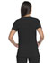 Photograph of Advance Women's V-Neck Top With Patch Pockets Black DK755-BLK