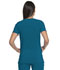 Photograph of Dickies Advance V-Neck Top With Patch Pockets in Caribbean Blue