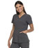 Photograph of Dickies Advance V-Neck Top With Patch Pockets in Pewter