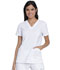Photograph of Dickies Advance V-Neck Top With Patch Pockets in White