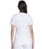 Photograph of Advance Women's V-Neck Top With Patch Pockets White DK755-WHT