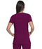Photograph of Dickies Advance V-Neck Top With Patch Pockets in Wine