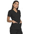 Photograph of Advance Women's V-Neck Top Black DK760-BLK