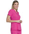 Photograph of Dickies Advance V-Neck Top in Hot Pink