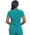 Photograph of Dickies Advance V-Neck Top in Teal Blue