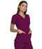Photograph of Dickies Advance V-Neck Top in Wine
