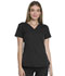 Photograph of Dickies Dynamix Women's V-Neck Top Black DK765-BLK