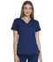 Photograph of Dynamix Women's V-Neck Top Blue DK765-NAV