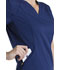 Photograph of Dickies Dynamix Women's V-Neck Top Blue DK765-NAV