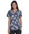 Photograph of Dynamix Women's V-Neck Top Bursting Blooms DK766-BURS