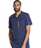Photograph of Dickies Dickies Dynamix Men's Tuckable V-Neck Top in Navy