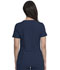 Photograph of Dickies Retro Mock Wrap Top in Navy