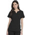 Photograph of Dickies Advance Shaped V-Neck Top in Black