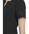 Photograph of Advance Women's Shaped V-Neck Top Black DK785-BLK