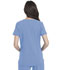 Photograph of Advance Women's Shaped V-Neck Top Blue DK785-CIE