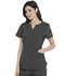 Photograph of Dickies Advance Shaped V-Neck Top in Pewter