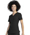 Photograph of Dickies Retro V-Neck Top in Black