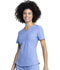 Photograph of Dickies Retro V-Neck Top in Ciel Blue
