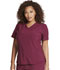 Photograph of Dickies Retro V-Neck Top in Wine