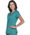 Photograph of Gen Flex Women V-Neck Top Green DK800-DTLZ