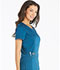 Photograph of Essence Women V-Neck Top Blue DK803-CAR