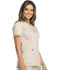 Photograph of Dickies Essence Women's V-Neck Top Khaki DK803-KAK