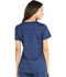 Photograph of Essence Women's V-Neck Top Blue DK803-NAV